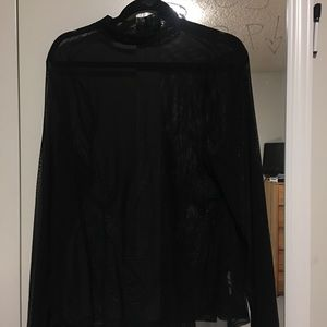 New Without Tags Forever 21 Plus Mesh Top